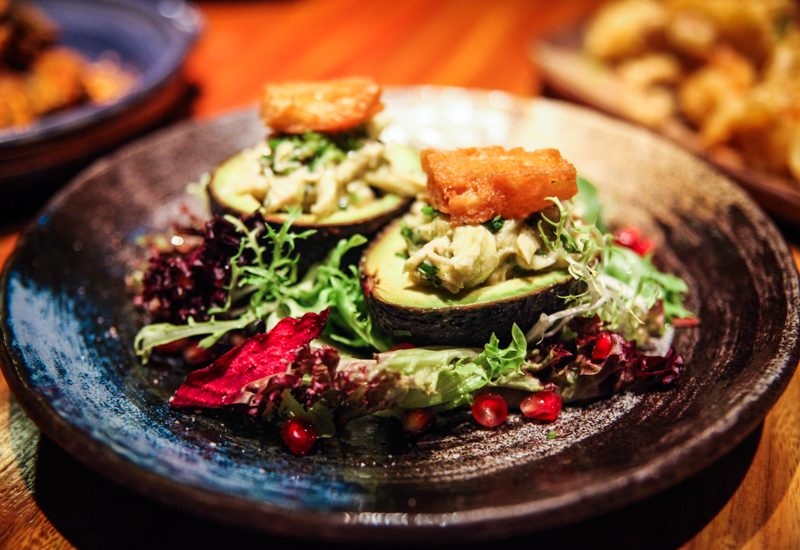 BOAF - Roasted Chicken & Avacado Salad with Szechuan Pepper