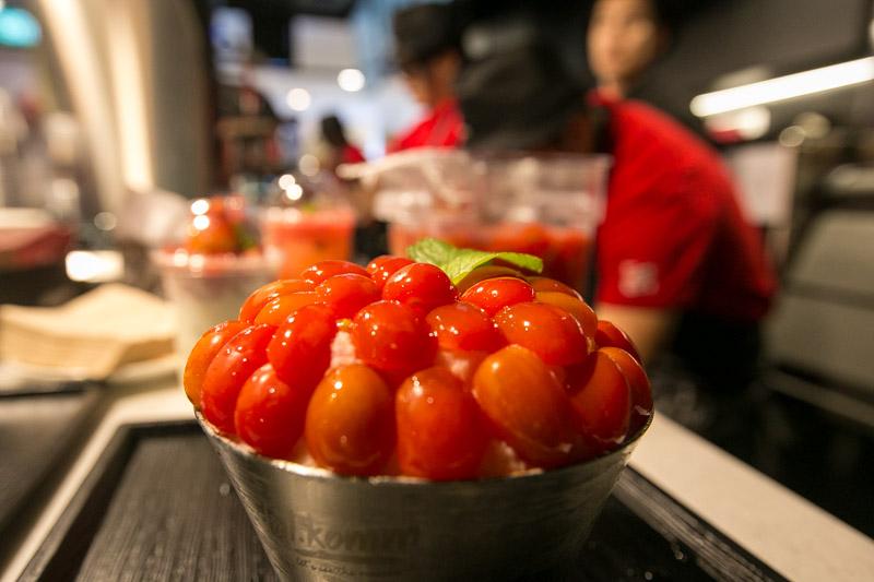 Dal.Komm Coffee - Cherry Tomato Bingsu