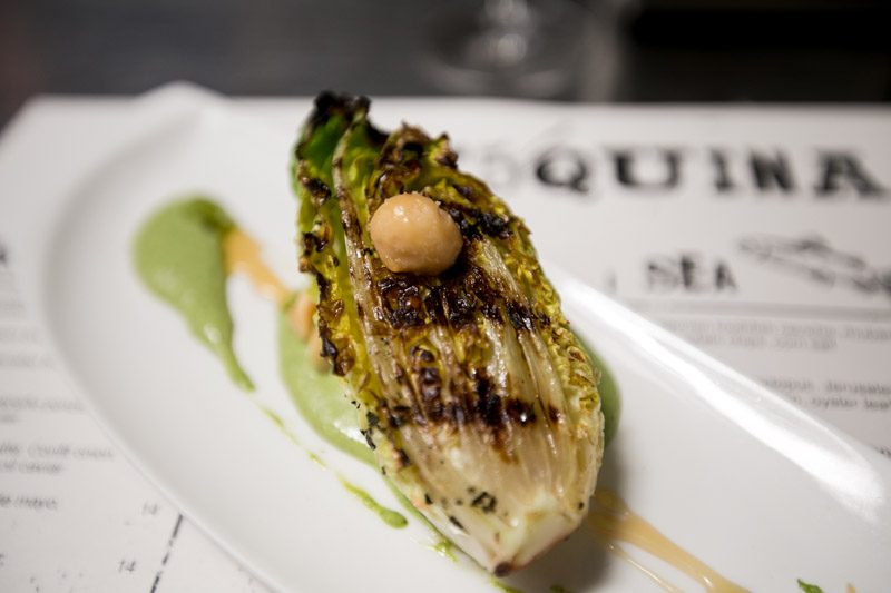 Esquina - Grilled Sucrine Lettuce