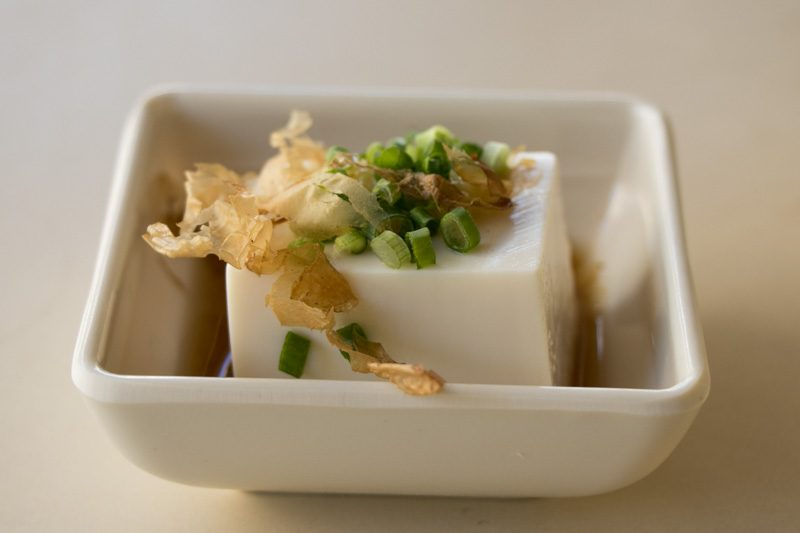 Plum Rice - Cold Tofu