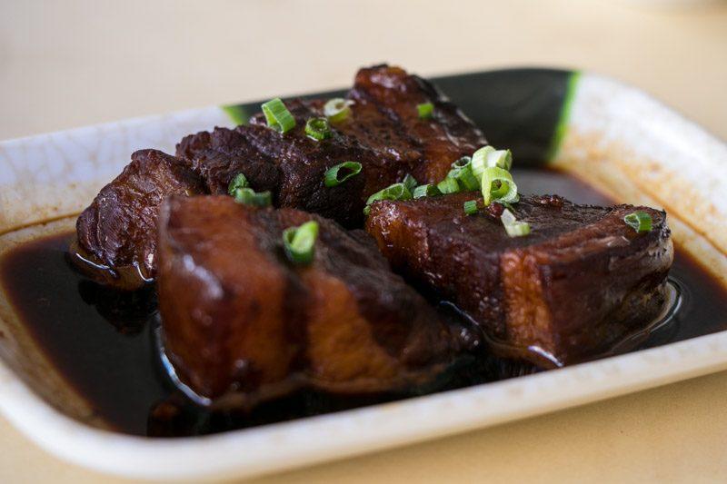 Plum Rice - Pork Belly
