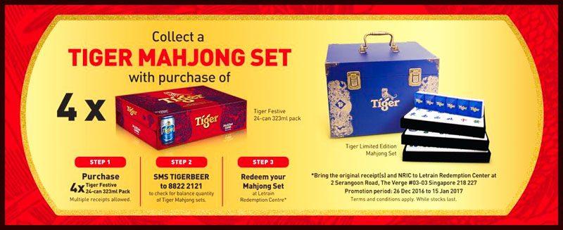 Tiger Beer CNY Promo