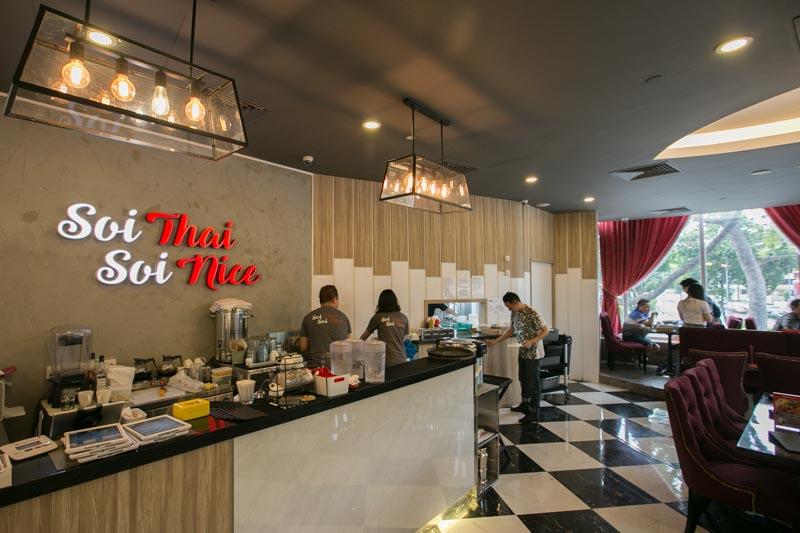 Soi Thai Soi Nice - Interior