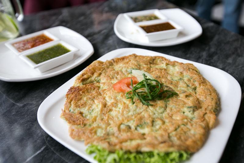 Soi Thai Soi Nice - Cha Om Omelette