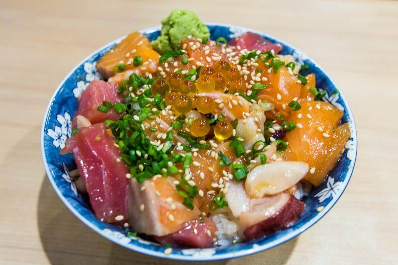 sushiro bara chirashi singapore
