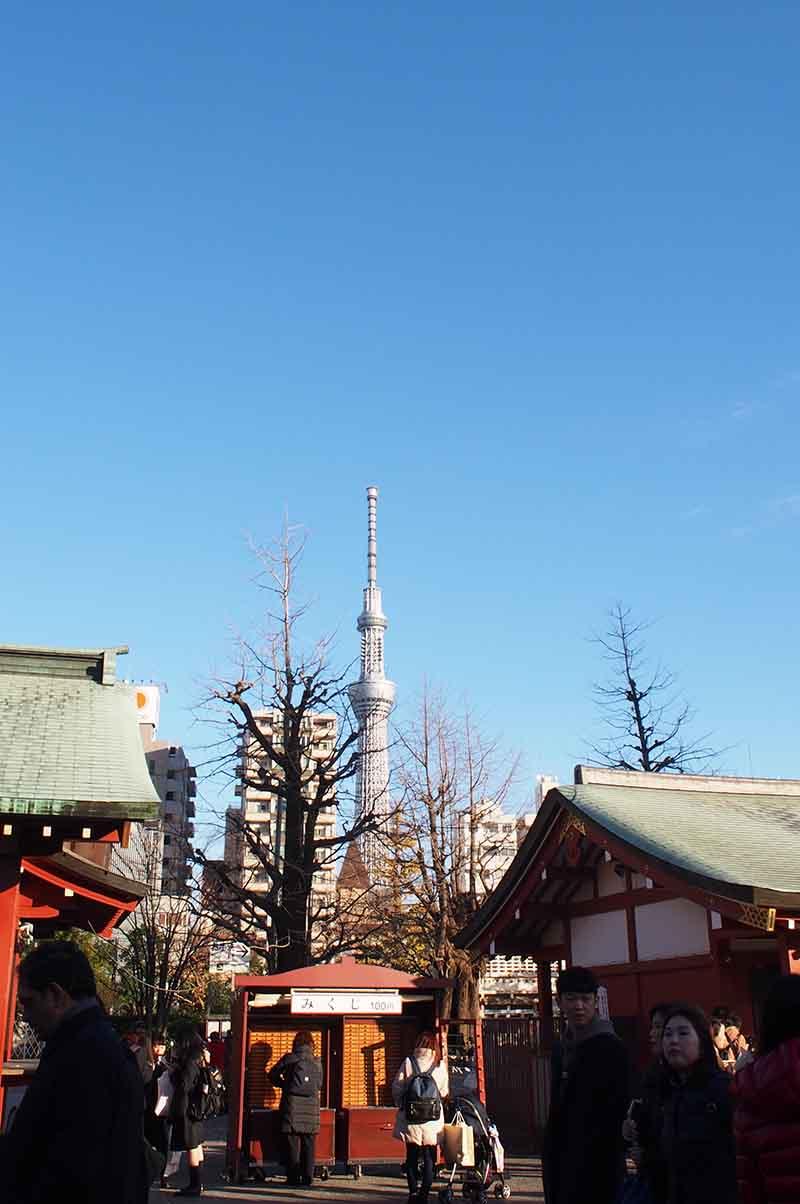 sensoji temple sky tree tokyo
