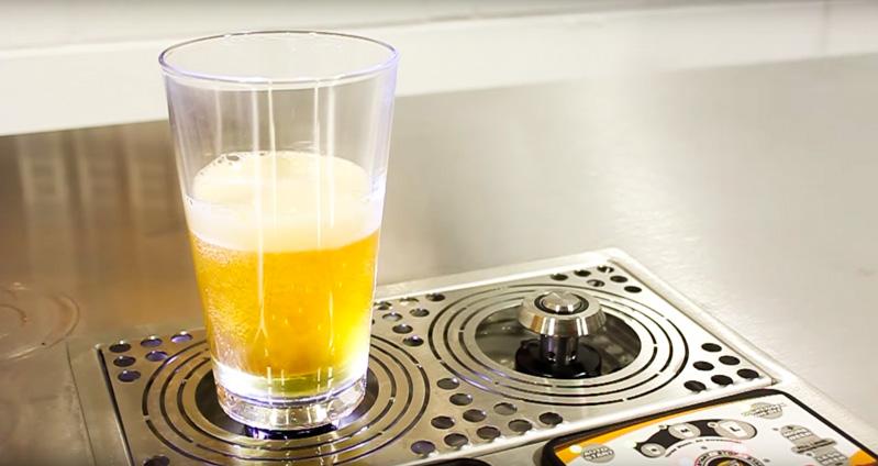 Bottoms Up Beer Dispenser Super Cool Dispenser Fills Your