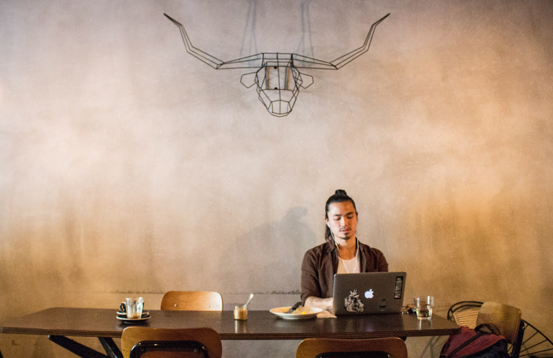 Ronin Coffee Interior