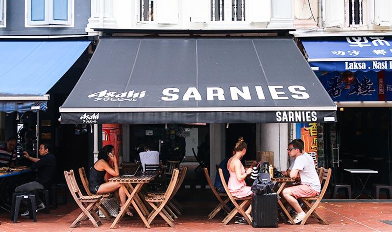 Sarnies Coffee ONLINE