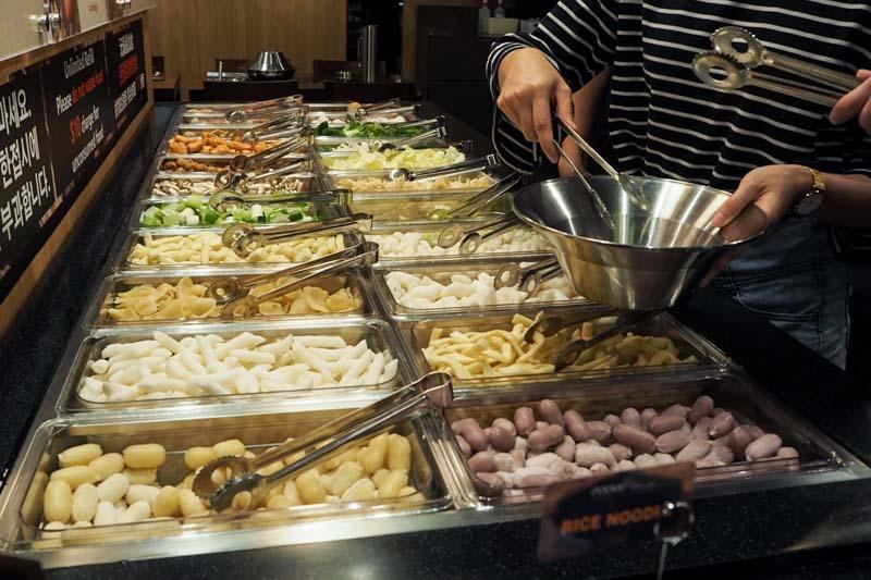 dooki buffet