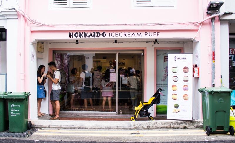 hicp-store-front_ Hokkaido IceCream Puff Singapore: This Buttery Cold Treat In Haji Lane Isn't From Japan