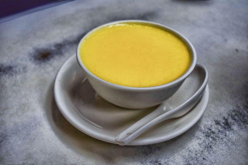 hong kong street food - ADC egg custard
