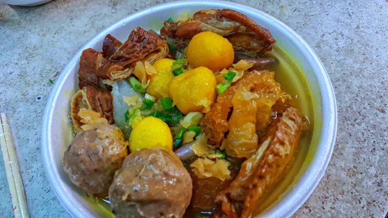 hong kong street food - Jia Fu Mei Shi Noodles