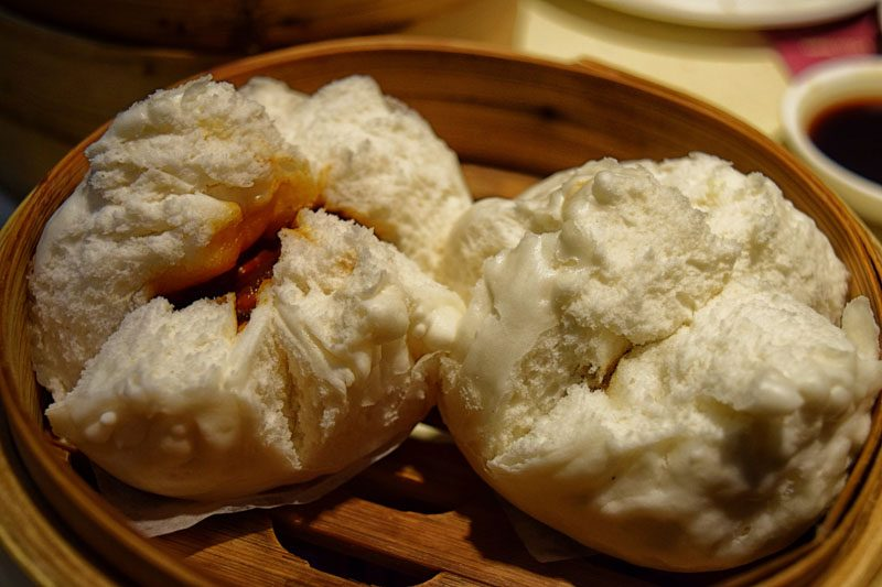 hong kong street food - One Dim Sum Char Siu Bao