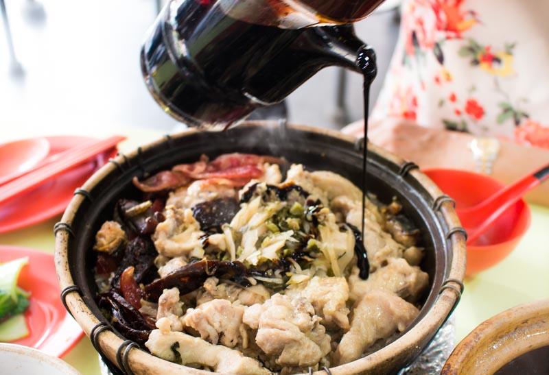 New Claypot Rice Claypot Rice Sauce_