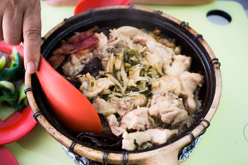 New Claypot Rice Claypot Wu Wei Rice Full Bowl_
