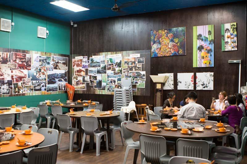 New Ubin Seafood Sitting Area Air-con_