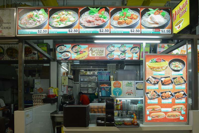 Saigon-Street-2-800x534 Saigon Food Street: Affordable Vietnamese Beef Pho For Only S$2.50 At Bukit Panjang Hawker Centre