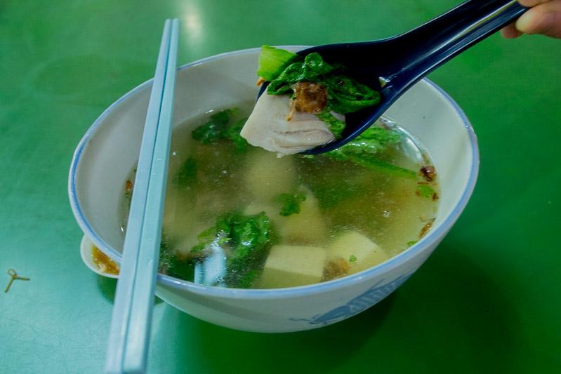 Maxwell food centre Yi Jia Teochew Fish Porridge 2