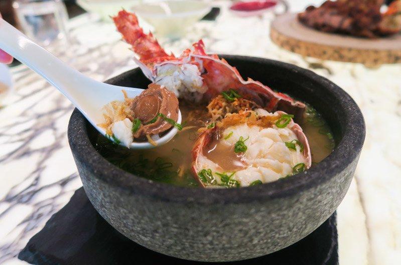 beast and butterflies lobster porridge