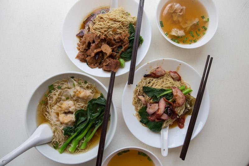 Yi-Kou-Mian-5 一口面 Yi Kou Noodle: Affordable Handmade Dumpling Noodles Filled With Generous Chunks Of Prawns At Geylang