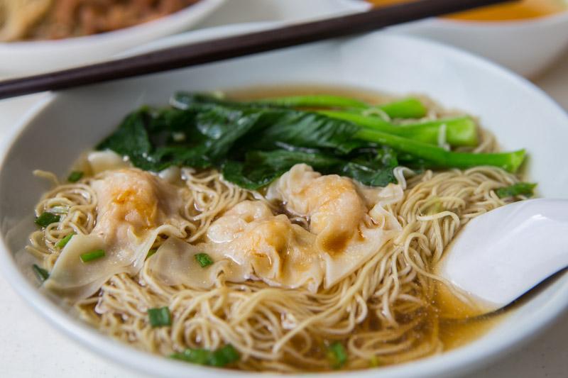 Yi-Kou-Mian-6 一口面 Yi Kou Noodle: Affordable Handmade Dumpling Noodles Filled With Generous Chunks Of Prawns At Geylang