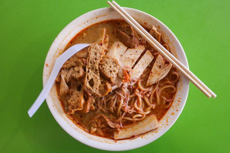 Hock Hai Curry Chicken Noodles