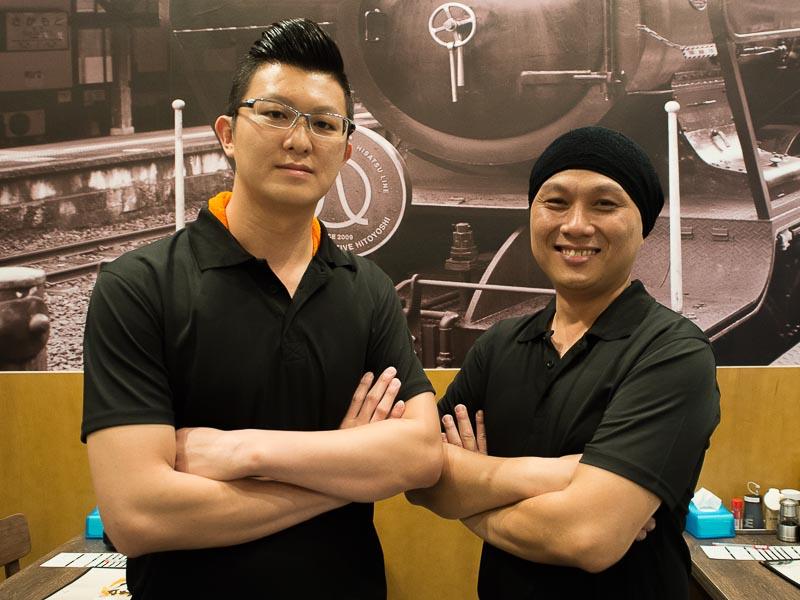 ramen hitoyoshi singapore - ex keisuke king chefs