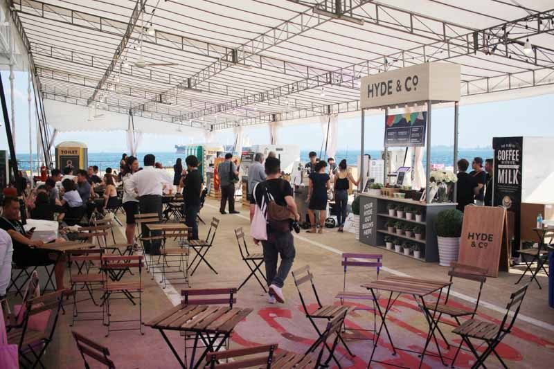 Singapore Coffee fest 2017 - interior setup