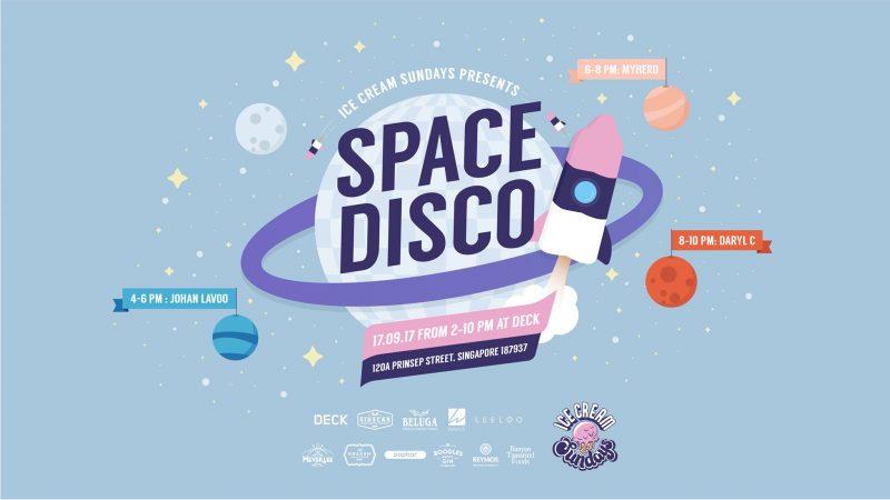 Ice Cream Sundays Space Disco