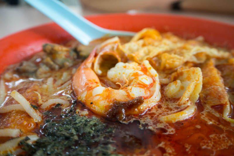 guang dong xiao shi whampoa morning market laksa prawn
