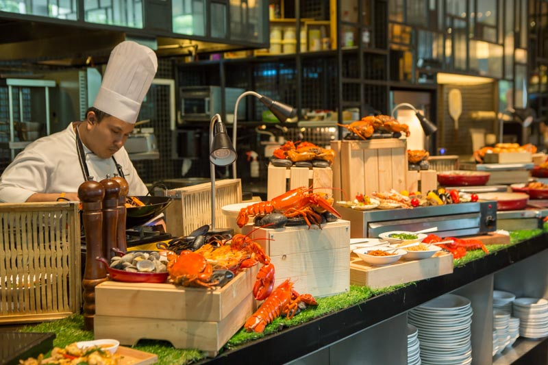 Parkroyal On Pickering Lime Buffet singapore best