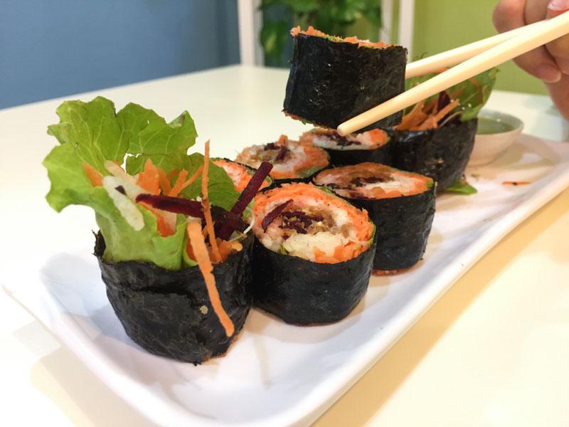 Sunnychoice Veggie Sushi 02