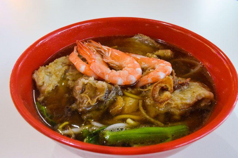 Newton Tian Xiang Big Prawn Noodle 06