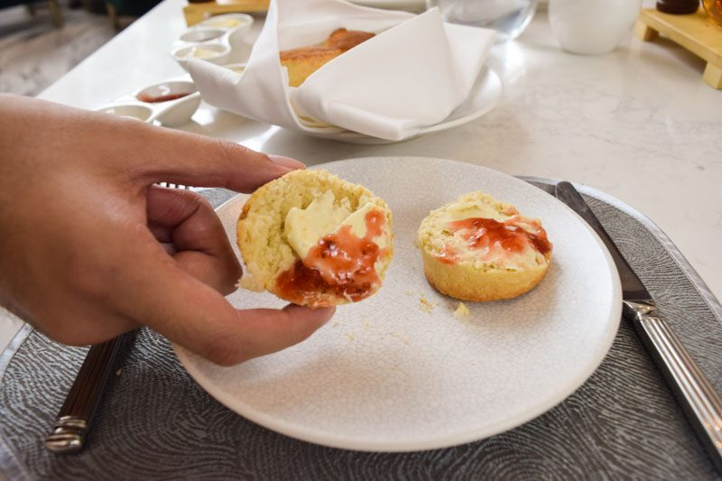 Scones Buttered