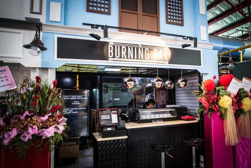 Burning Oak 3200 2