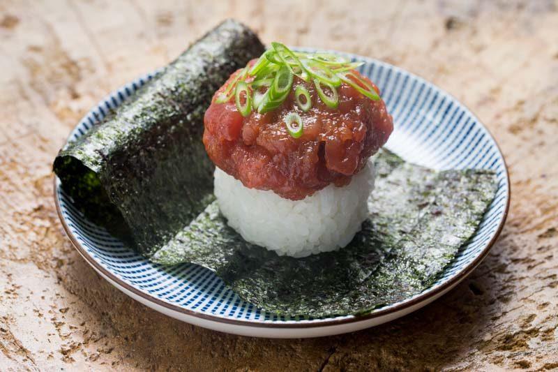 Adrift New Menu Spicy Big Eye Tuna Open Maki Photoshoot 07081 30
