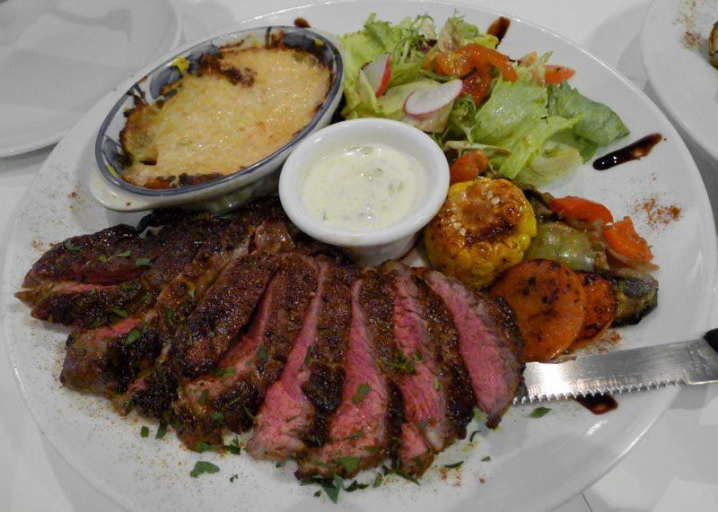 Bruno's Ribeye Steak Gratin