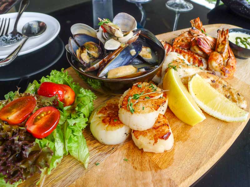 The Seagrill singapore seafood platter 09