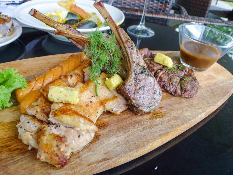 The Seagrill singapore platter