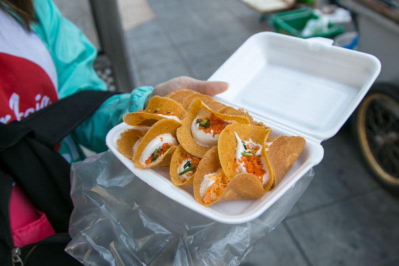 Best Bangkok Street Foods Crispy Pancake