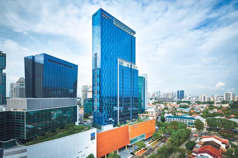 Courtyard By Marriott Singapore Novena Facade ONLINE