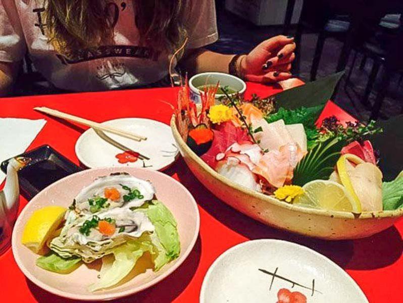 Kushi Japanese Dining Bar 2 buffet