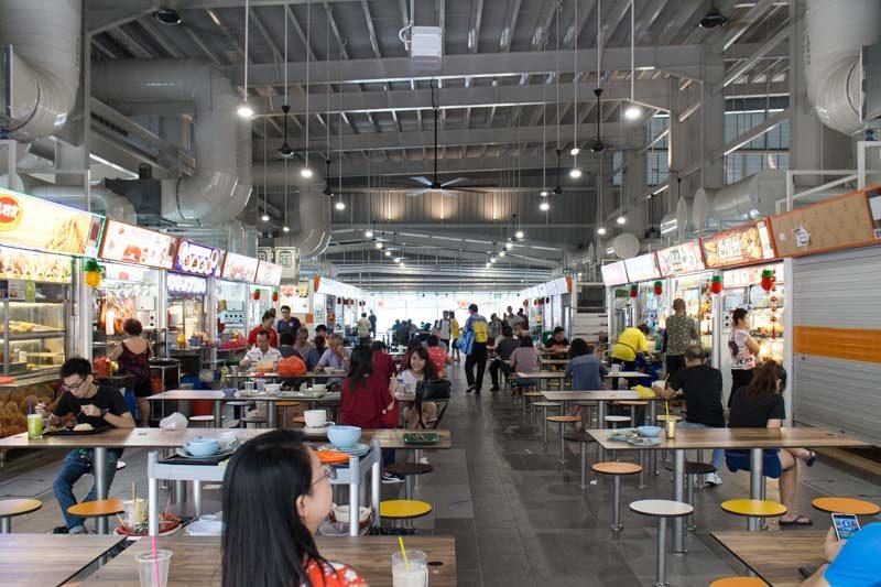 Geylang Bahru Market Interior