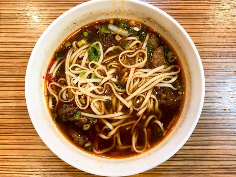 Taiwan Niu Beef Noodle Soup 2
