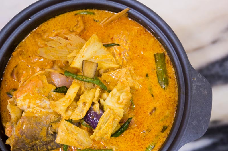 Wok Master westgate fishhead curry