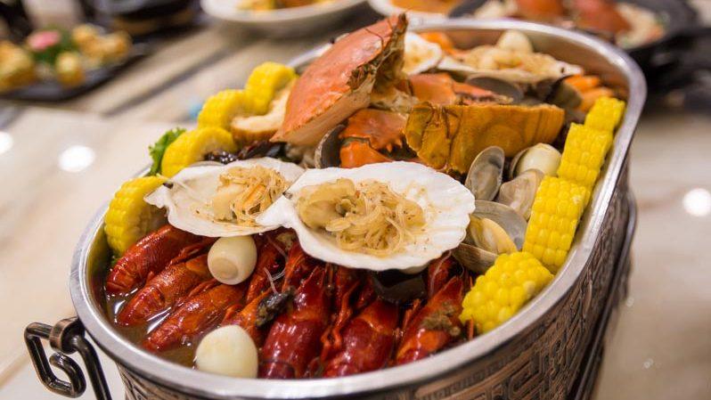 Wok Master singapore seafood platter