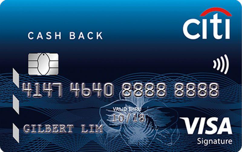Singsaver Credit Card Comparison Citi Cash Back Online