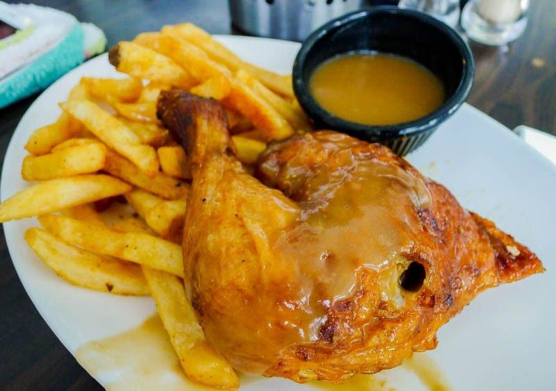 Therotisserie Quarterchicken - best roast chicken singapore