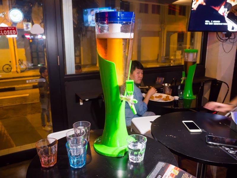 beer tower sleeping giant - 1